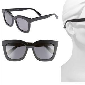 NIB Diff Carson Black Sunglasses